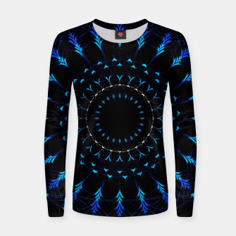 Thumbnail image of Intricate artistic Mandala Women sweater, Live Heroes