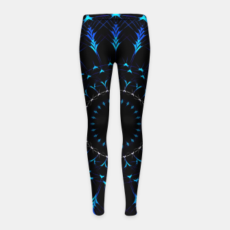 Thumbnail image of Intricate artistic Mandala Girl's leggings, Live Heroes