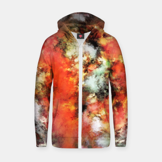 Thumbnail image of See the flames Zip up hoodie, Live Heroes