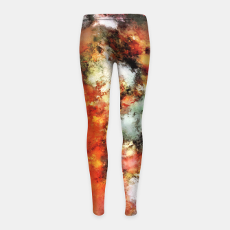 See the flames Girl's leggings thumbnail image