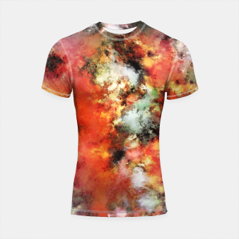Thumbnail image of See the flames Shortsleeve rashguard, Live Heroes