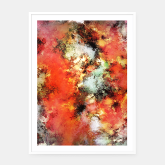 Thumbnail image of See the flames Framed poster, Live Heroes