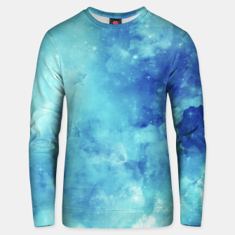 Miniaturka Galaxy blue clouds Unisex sweater, Live Heroes