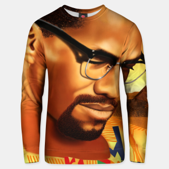 Thumbnail image of Malcolm Unisex sweater, Live Heroes