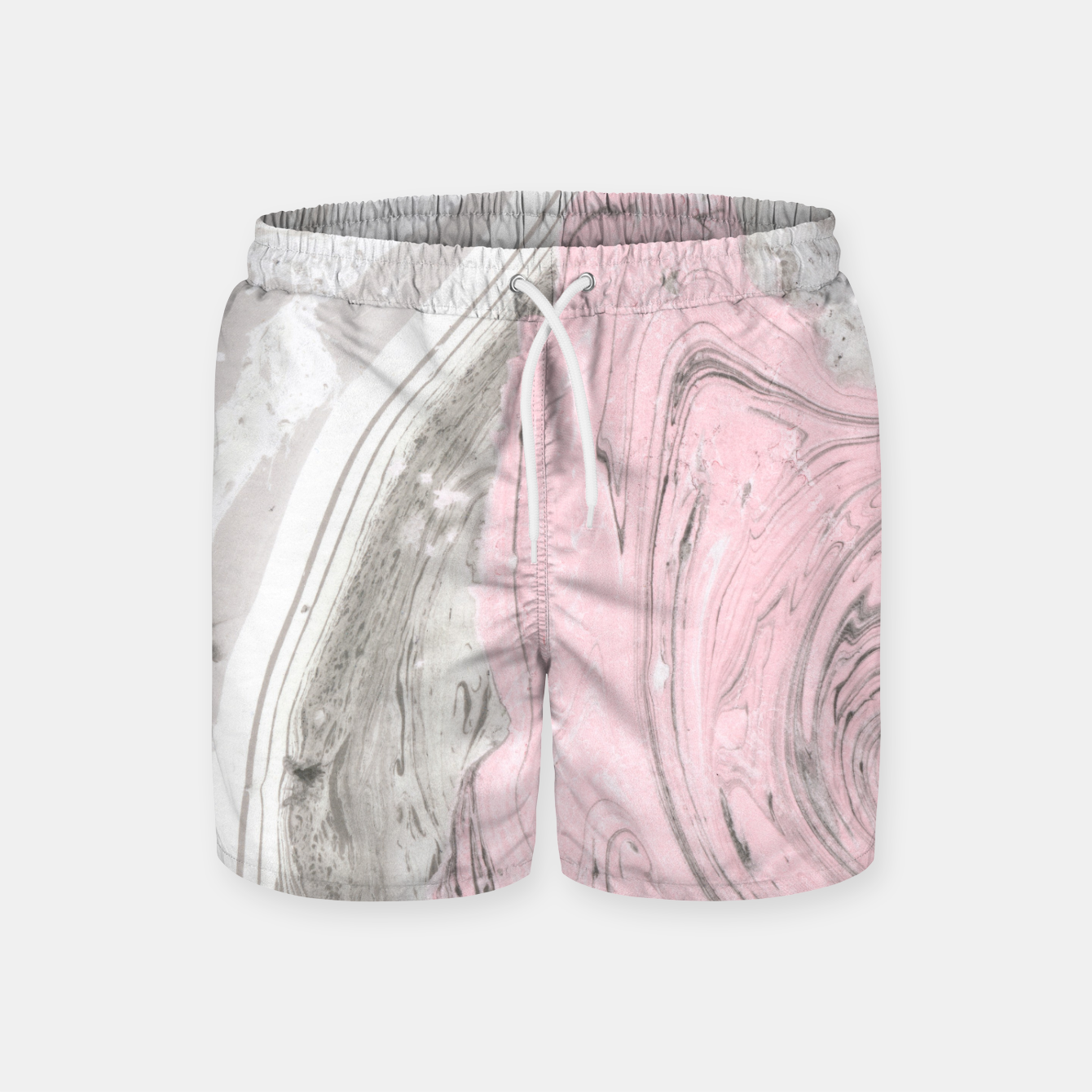 Image of Pink and gray marble Pantalones de baño - Live Heroes