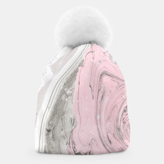 Pink and gray marble Gorro thumbnail image