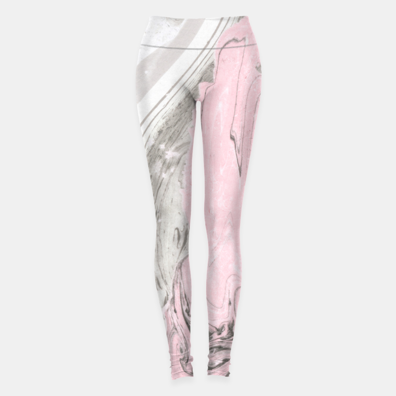 Image of Pink and gray marble Leggings - Live Heroes