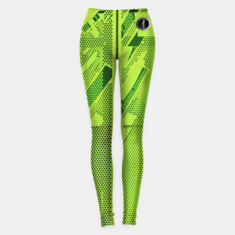 Thumbnail image of SublowGrim City Neo Casual Leggings, Live Heroes