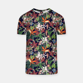 Thumbnail image of Botanical Flowers T-shirt, Live Heroes