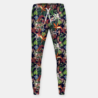 Botanical Flowers Sweatpants Bild der Miniatur