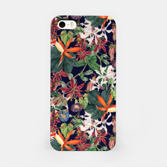 Botanical Flowers iPhone Case Bild der Miniatur