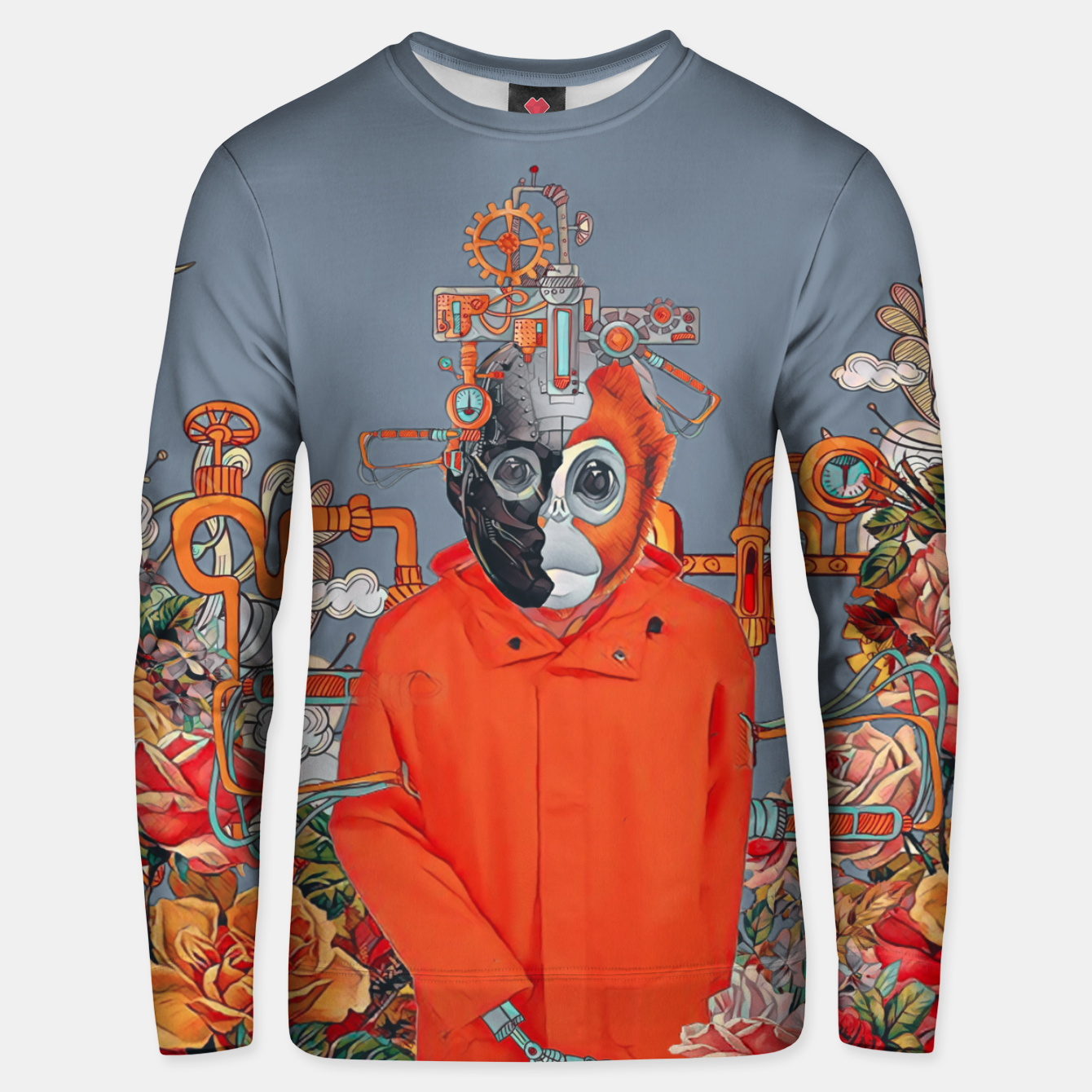 Image of Flower power Unisex sweater - Live Heroes