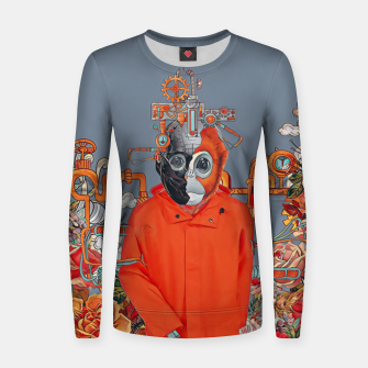 Thumbnail image of Flower power Women sweater, Live Heroes
