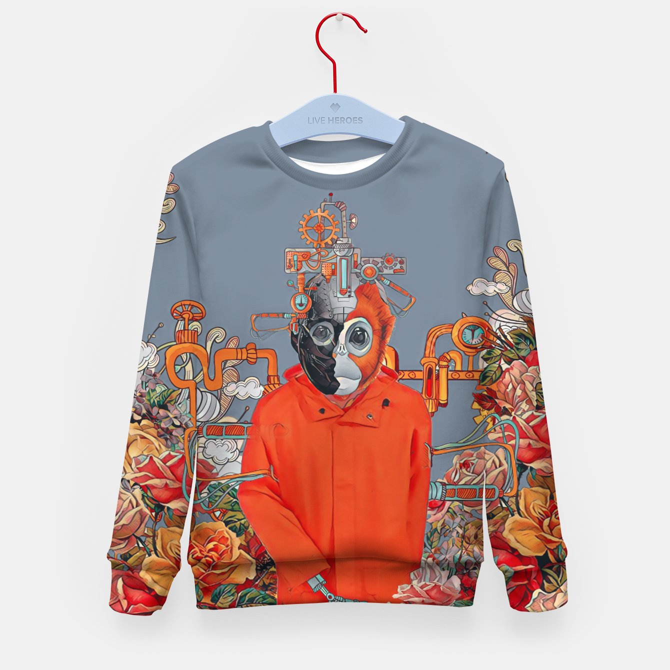 Image of Flower power Kid's sweater - Live Heroes