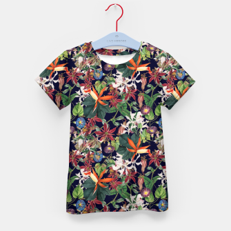 Botanical Flowers Kid's t-shirt Bild der Miniatur