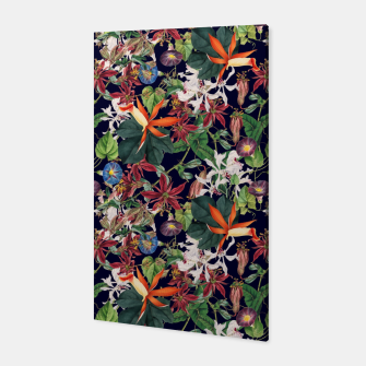Botanical Flowers Canvas Bild der Miniatur