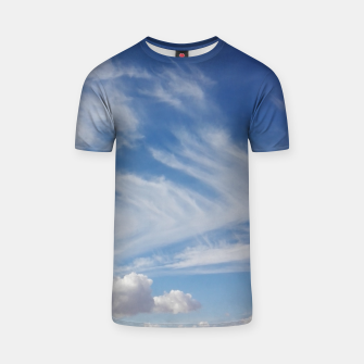 Thumbnail image of Clouds ..!  T-shirt, Live Heroes