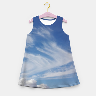 Miniaturka Clouds ..!  Girl's summer dress, Live Heroes