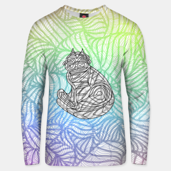 Thumbnail image of cat Unisex sweater, Live Heroes