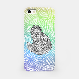 Thumbnail image of cat iPhone Case, Live Heroes