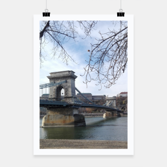 Thumbnail image of Budapest bridge Poster, Live Heroes