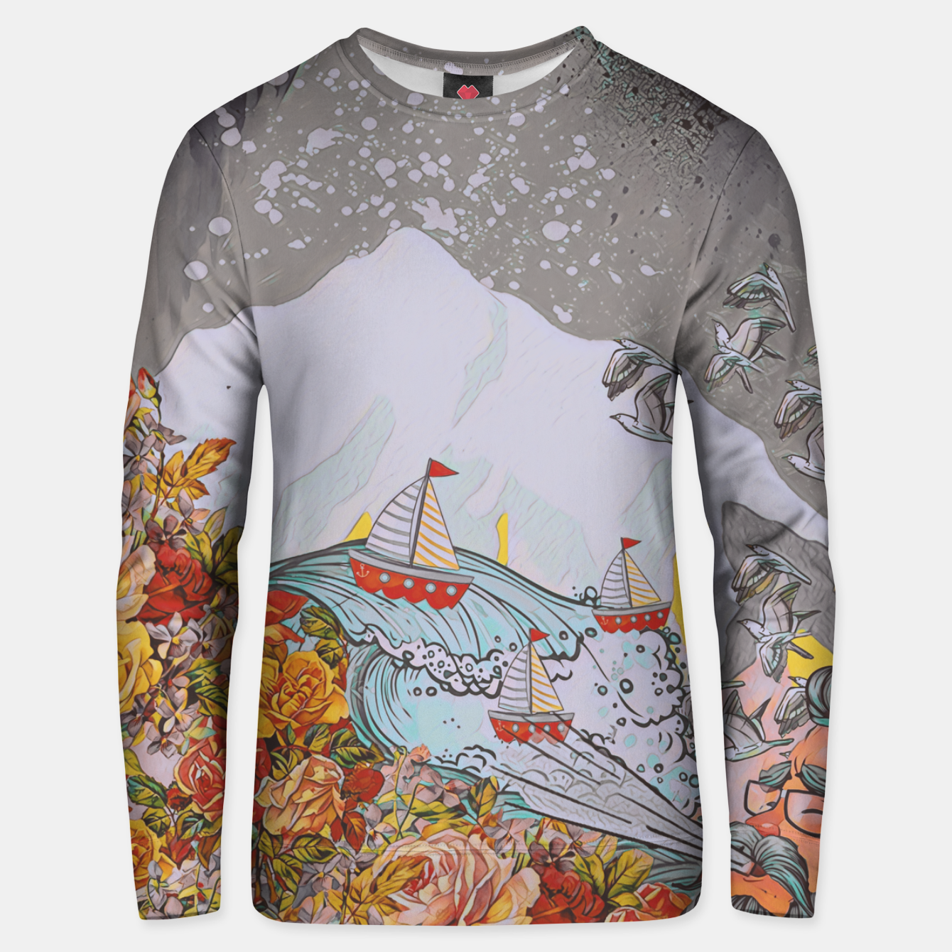 Image of Wind blow Unisex sweater - Live Heroes