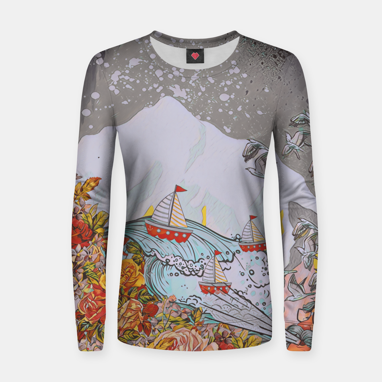 Image of Wind blow Women sweater - Live Heroes