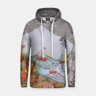 Thumbnail image of Wind blow Hoodie, Live Heroes