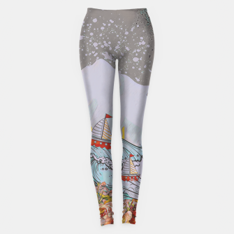 Miniaturka Wind blow Leggings, Live Heroes