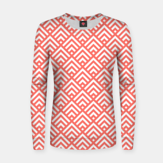 Thumbnail image of Living Coral Pattern II Women sweater, Live Heroes