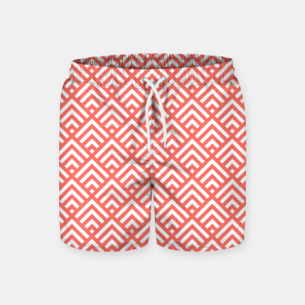 Thumbnail image of Living Coral Pattern II Swim Shorts, Live Heroes