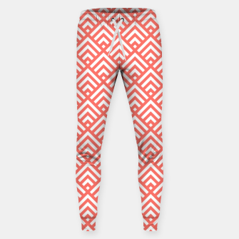 Thumbnail image of Living Coral Pattern II Sweatpants, Live Heroes