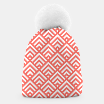 Thumbnail image of Living Coral Pattern II Beanie, Live Heroes