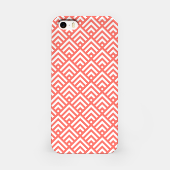 Thumbnail image of Living Coral Pattern II iPhone Case, Live Heroes