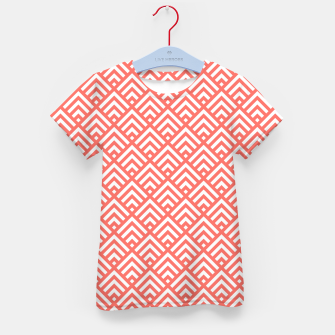 Thumbnail image of Living Coral Pattern II Kid's t-shirt, Live Heroes