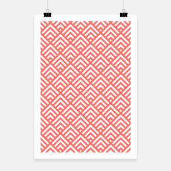 Thumbnail image of Living Coral Pattern II Poster, Live Heroes