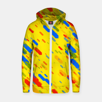 Thumbnail image of Diamonds Flat Color - 01 Zip up hoodie, Live Heroes