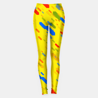 Thumbnail image of Diamonds Flat Color - 01 Leggings, Live Heroes