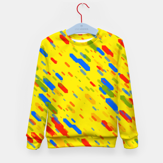 Thumbnail image of Diamonds Flat Color - 01 Kid's sweater, Live Heroes