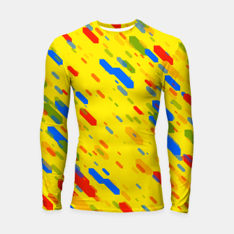 Thumbnail image of Diamonds Flat Color - 01 Longsleeve rashguard , Live Heroes