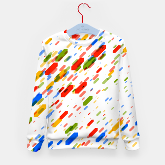 Thumbnail image of Diamonds Flat Color - 02 Kid's sweater, Live Heroes