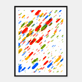 Thumbnail image of Diamonds Flat Color - 02 Framed poster, Live Heroes