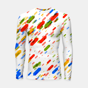 Thumbnail image of Diamonds Flat Color - 02 Longsleeve rashguard , Live Heroes