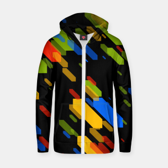 Thumbnail image of Diamonds Flat Color - 03 Zip up hoodie, Live Heroes