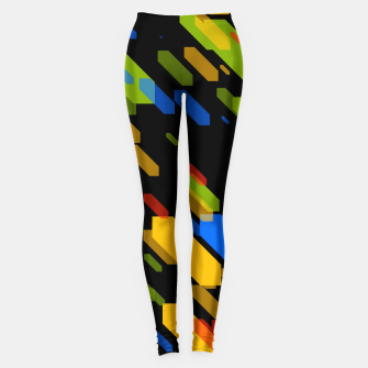 Thumbnail image of Diamonds Flat Color - 03 Leggings, Live Heroes