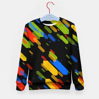 Thumbnail image of Diamonds Flat Color - 03 Kid's sweater, Live Heroes