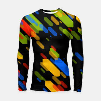 Thumbnail image of Diamonds Flat Color - 03 Longsleeve rashguard , Live Heroes