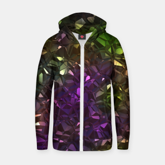 Thumbnail image of Christalline Rainbow Color - 01 Zip up hoodie, Live Heroes