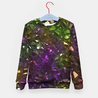 Thumbnail image of Christalline Rainbow Color - 01 Kid's sweater, Live Heroes