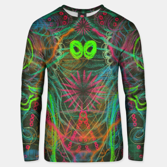 Imagen en miniatura de Dark Visions A Digitized (abstract, psychedelic, drawing) Unisex sweater, Live Heroes